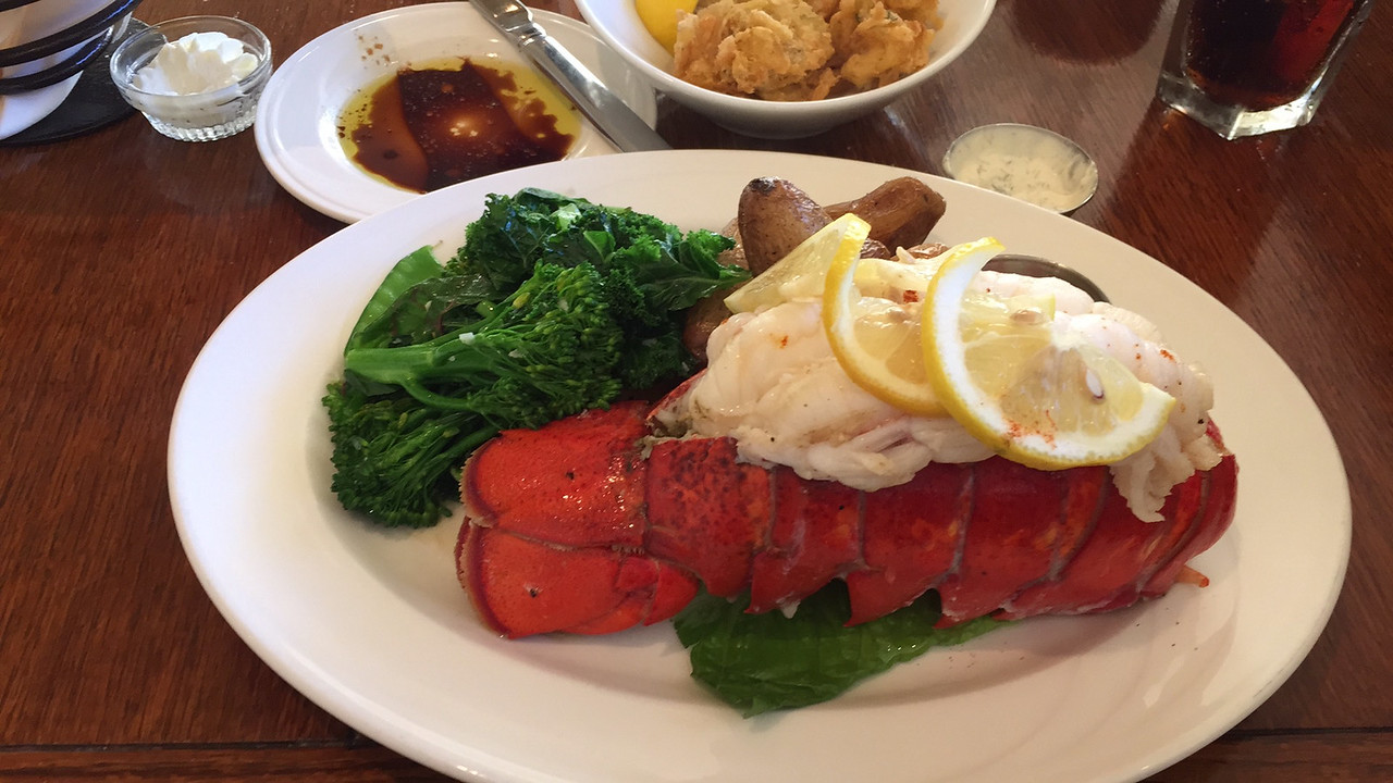 Big Piece Of Lobster